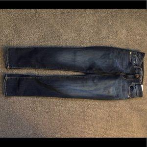 American eagle skinny jeans 0